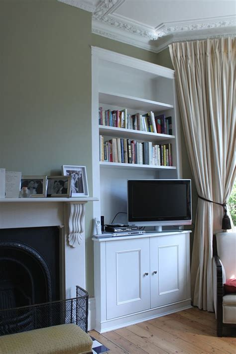 Living Room Alcove Cupboards by Wardrobe Company Floating Shelves Boockcase Cupboards