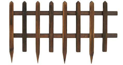 steccato per giardino steccato in legno 84 x 50 cm arredo giardino
