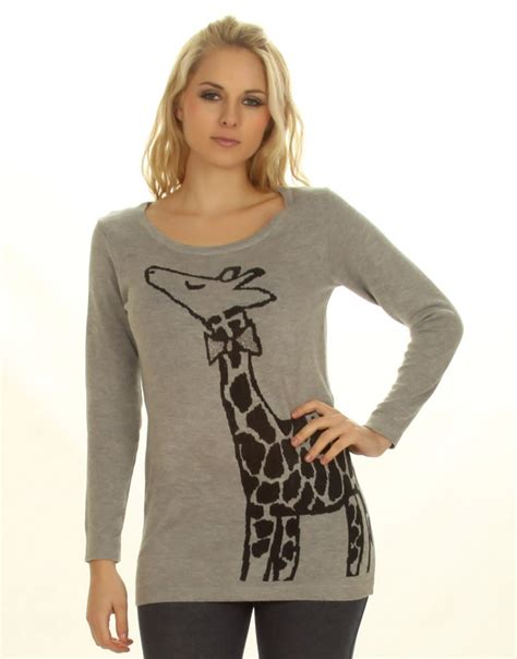 Girafe Jumper giraffe jumper by chiara knitting animal jumpers