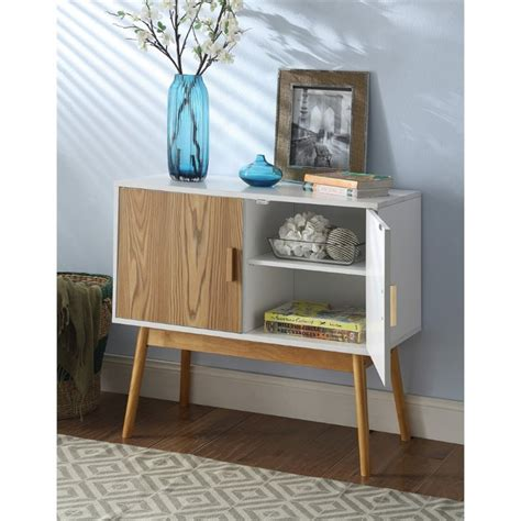 white sofa table with storage storage console table in white 203199w
