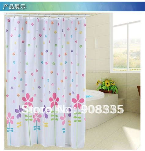 cute kids shower curtains al 44 71 78 quot cute colourful star flower polyester fabric