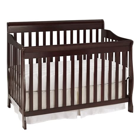 How Big Is A Crib Mattress Does This Crib Come With A Mattress Big Oshi Stephane Convertible 4 In 1 Crib In Espresso Item