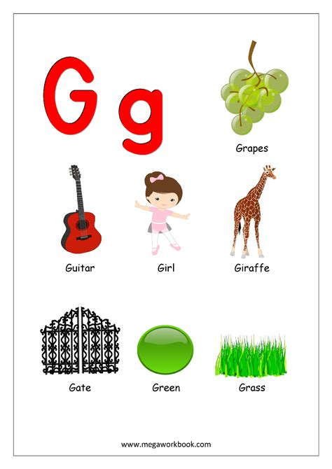 Pictures Of Objects Starting With Letter A