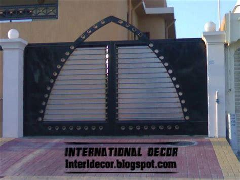 modern sliding iron gate designs uk sliding iron gates