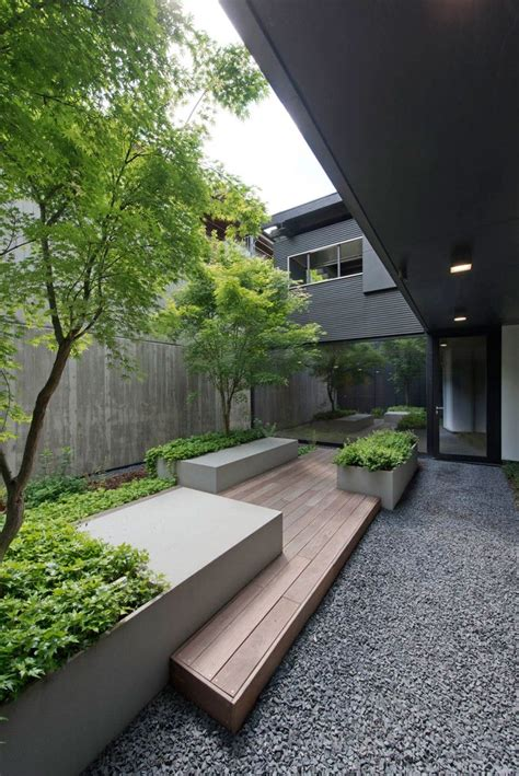 stunning contemporary home  exquisite landscaping