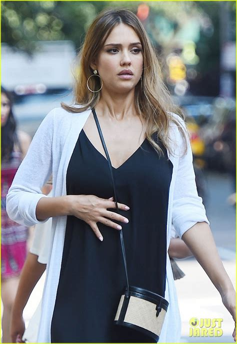 Albas Growing Bump by Alba Shows Growing Baby Bump In Nyc