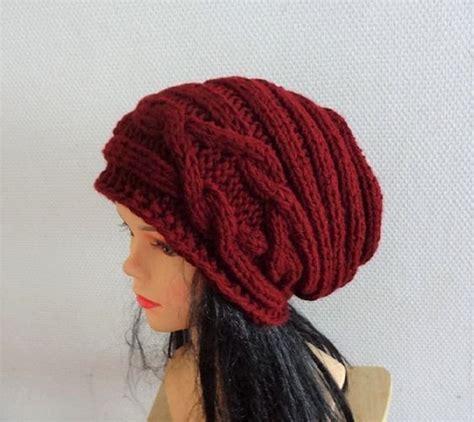 Big Size Jumbo Knit Vest Rompi Rajut Unisex slouchy knitted hat large unisex hat slouchy beanie big hat chunky knit cap