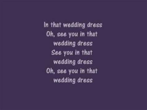 wedding dress english version  reyes  tommy   lyrics youtube