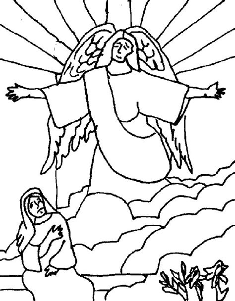 hail mary coloring pages az coloring pages