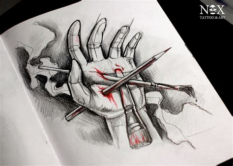 art is pain by mattynox on deviantart