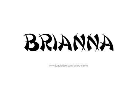 brianna tattoo designs breanna in cursive images search