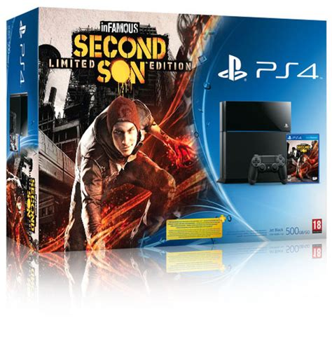 Ps4 Infamous Second Infamous Second Getting A Ps4 Bundle Release Date In