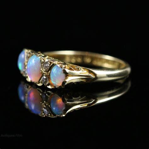 deco rings for sale uk antiques atlas antique deco opal trilogy ring