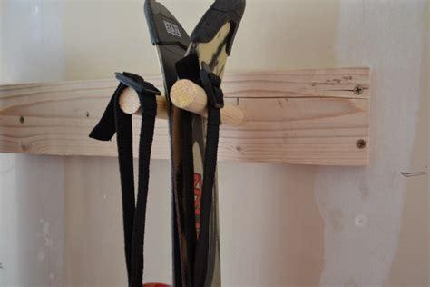 Wooden Ski Rack by Diy Wood Ski Racks I Am Hardware