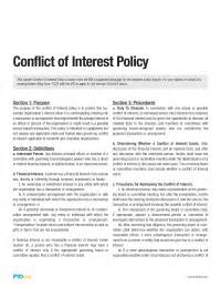 conflict of interest policy template pto bylaws template wishes from pta