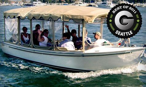 the boat company the electric boat company in seattle washington groupon