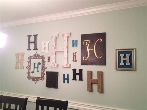 100 monogrammed home decor diy monogram plaque for