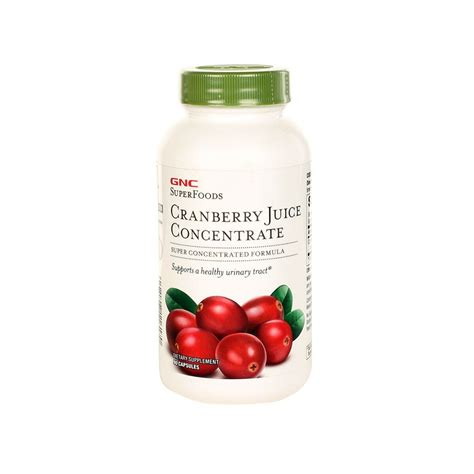 One Concentrate Detox Drink Gnc by Gnc Cranberry Juice Concentrate Capsule
