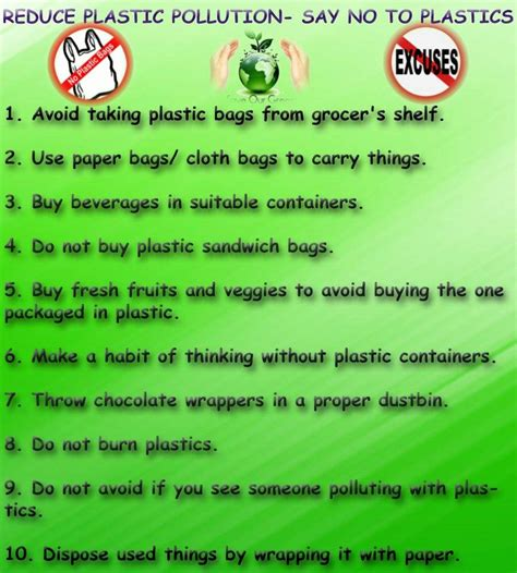 Avoid Plastics Essay In Tamil by Reduce Plastic Pollution Say No To Plastics Save Our Green
