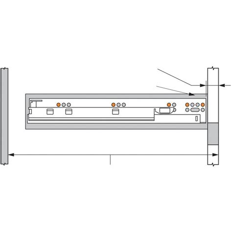 blum tandem blumotion drawer slide installation blum 563 4570b 18in tandem plus blumotion 563 full ext