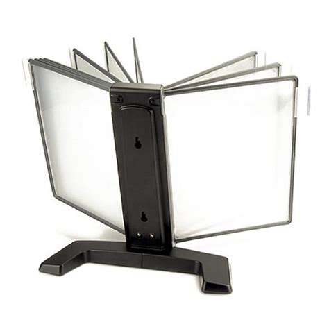 Desk Display Stand Flip And Find Basic Reference Display Desk Stand