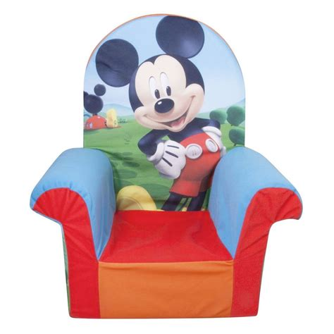 Mickey Mouse Clubhouse Furniture by Spin Master Marshmallow Furniture High Back Chair Mickey