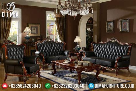 Kursi Ruang Tamu Mewah set kursi sofa ruang tamu jati jepara mewah terbaru harga murah df 0421 dima furniture jepara