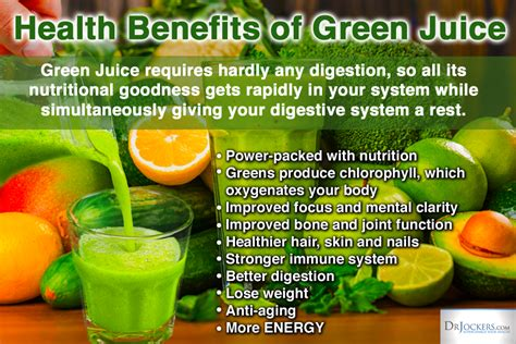 Health Benefits Of Detoxing Diet by The Guide To Great Juicing Drjockers