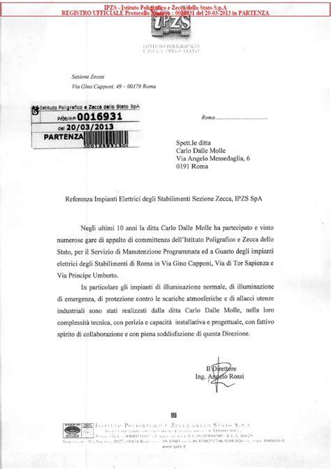 lettere di referenze fac simile lettera referenze esempio firmakoek