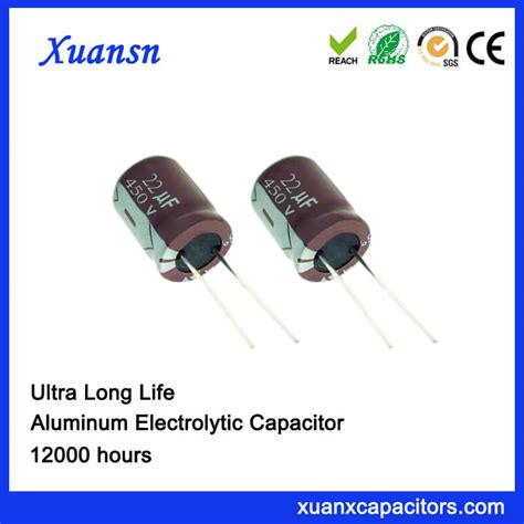 capacitor hours 22uf 450v aluminum electrolytic capacitor manufacturers