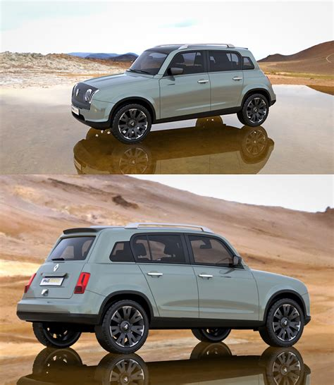 renault 4 4x4 concept concept cars 4x4 and