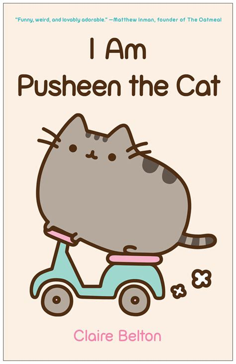 i am pusheen the cat book by belton official