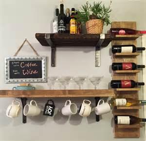Kitchen Cabinet Wine Rack Ideas Coffee Or Wine Jlm Designs