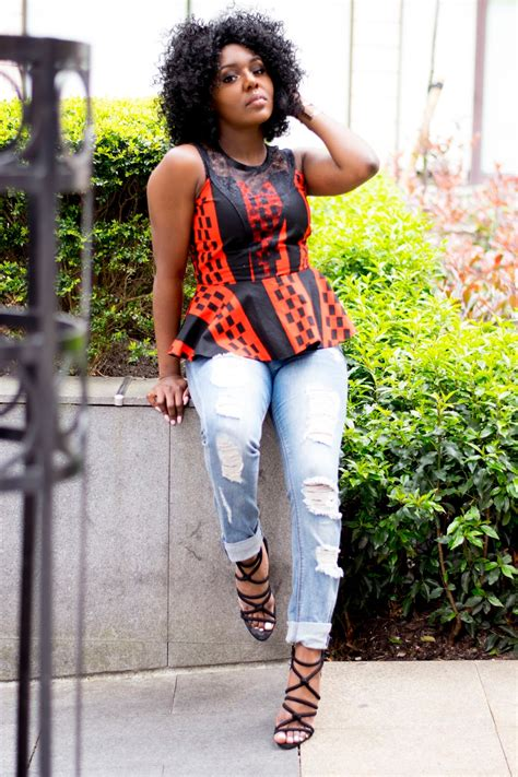 trendy african clothes for boys 14 trendy ankara tops and jeans for curvy ladies