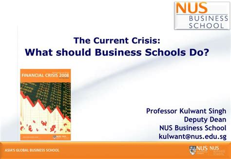 Business Mba Ppt by Ppt The Current Crisis What Should Business Schools Do