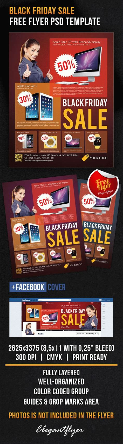 photoshop templates for sale black friday sale free flyer psd template by elegantflyer