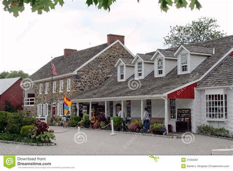 House Tavern by Dobbin House Tavern With Gettystown Inn Editorial Photo