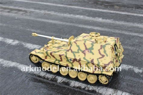Rc Elephant arkmodel hooben 1 16 rc elephant jagdpanzer tank model in