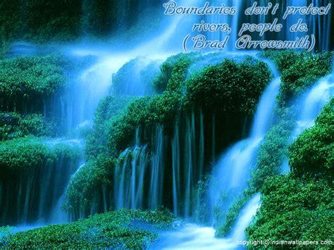 wallpaper desktop alam koleksi wallpaper pemandangan alam air terjun natural