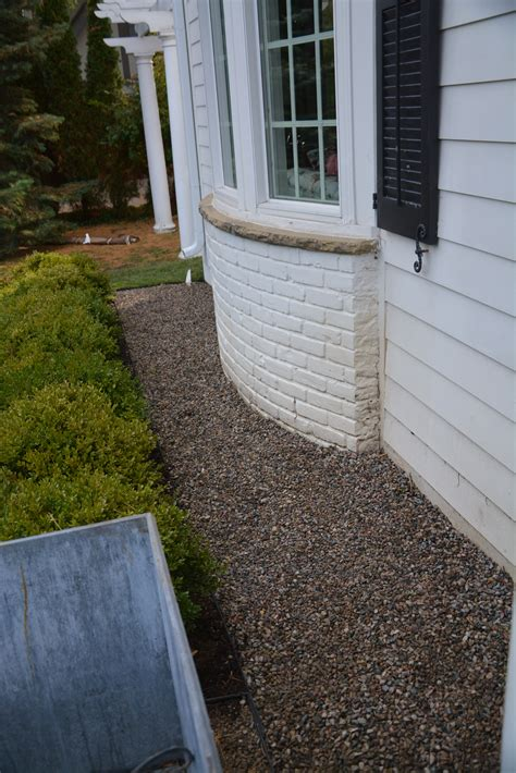 gravel around house gravel around foundation of house round designs