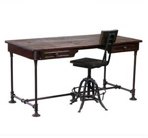 industrie schreibtisch bettendorf industrial style desk eclectic desks and
