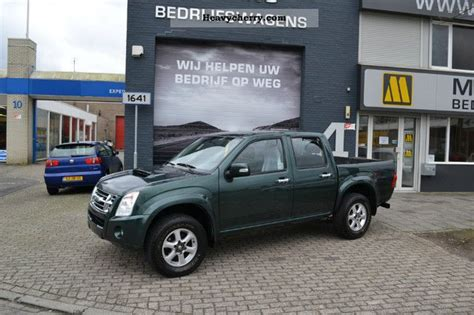 isuzu dmax 2007 stake body van or truck up to 7 5t commercial vehicles