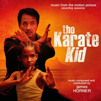 theme music karate kid the karate kid rs james horner tsd front covers
