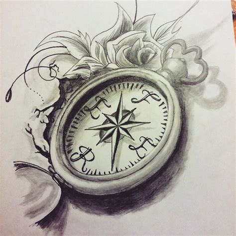 compass tattoo sketch compass rose tattoo drawing on instagram