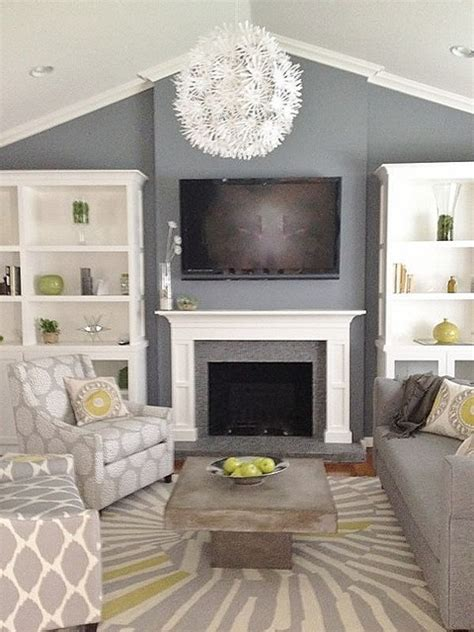 grey and green living contemporary living room san francisco by found design