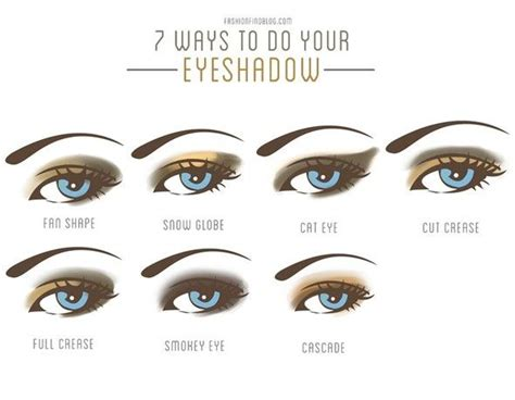 7 Ways To Your Makeup Skills by Eyeshadow Styles Hair And