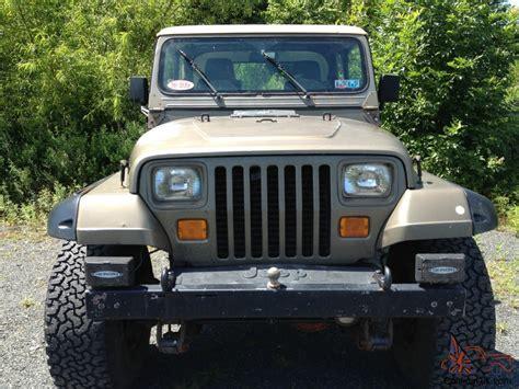 1988 Jeep Parts 1988 Jeep Wrangler Sport Utility 2 Door 4 2l Lots