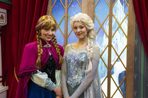 frozen film elsa s sister will disney parks cut classics to make room for frozen and