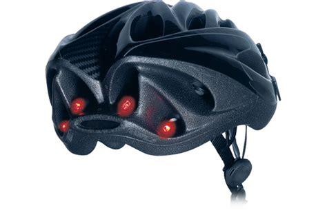 bicycle helmet rear light busch and muller topfire bike helmet led tail light