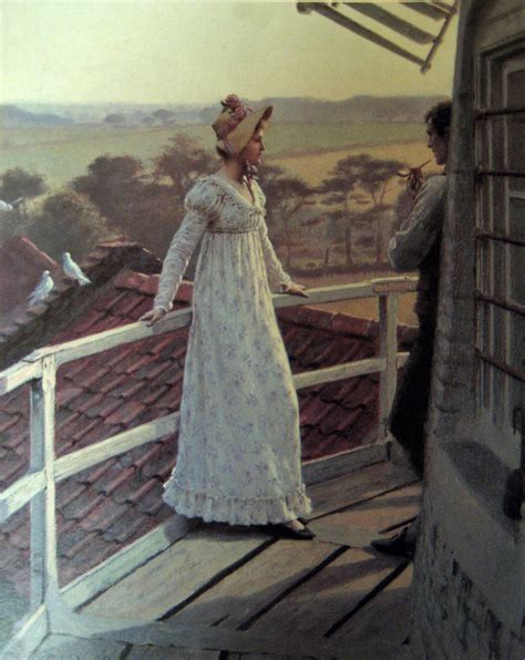 regency painting one year one painting a day edmund blair leighton and god speed
